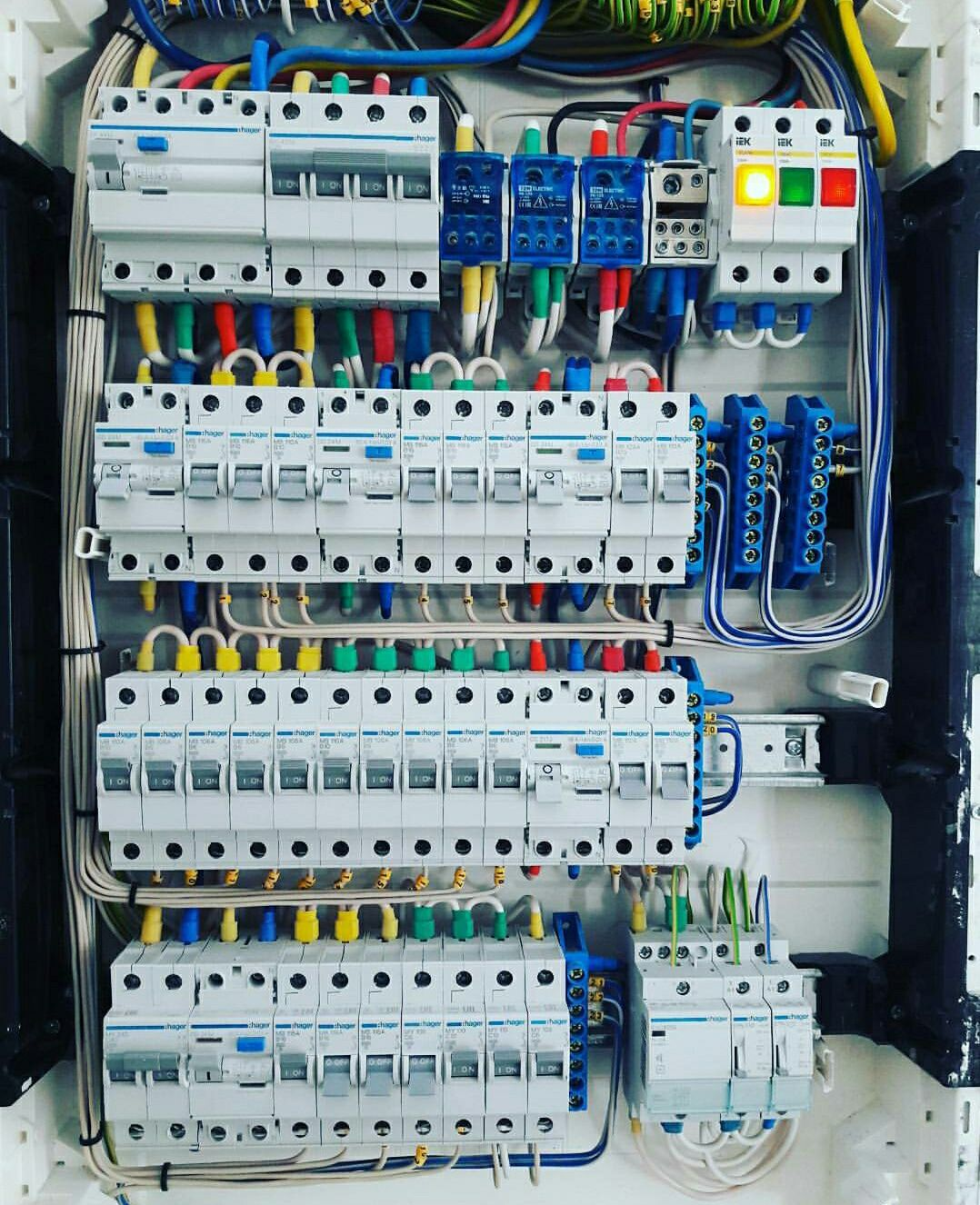 A distribution board (also known as panelboard, breaker panel, or ...